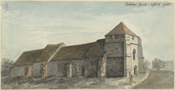Felixstowe Church, Suffolk, 1766